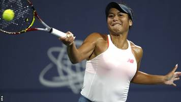 silicon valley classic: heather watson loses to venus williams in last 16