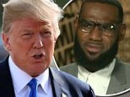 trump tears into 'dumbest man on television' cnn's don lemon after his interview lebron