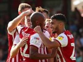 championship round-up: brentford smash five goals on opening afternoon as preston and wigan win