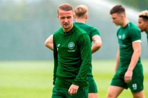 celtic squad revealed as leigh griffiths returns for flag day