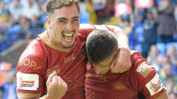 challenge cup semi-final: st helens 16-35 catalan dragons highlights