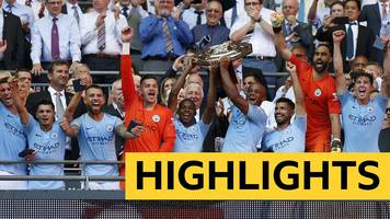 community shield: chelsea 0-2 manchester city highlights