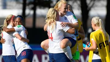 under-20 women's world cup: england win opening match