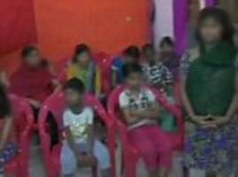 two dozen girls rescued from indian women's shelter amid sex exploitation claims