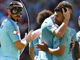 ilkay gundogan praises aguero as manchester city and says they are ready for title defence