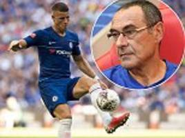 ross barkley calls for patience while new boss maurizio sarri sets about chelsea's transformation