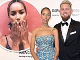 leona lewis engaged: songstress 'set to wed long-term beau dennis jauch after eight years of dating'