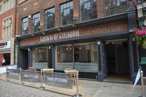 inside old town's new crown and cushion bar - and look who's running the kitchen!