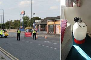 police reveal what was in 'suspicious item' that sparked bomb scare