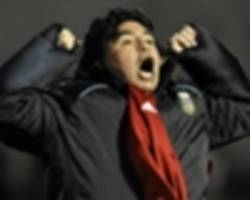 maradona stunned to not be in the running for argentina job