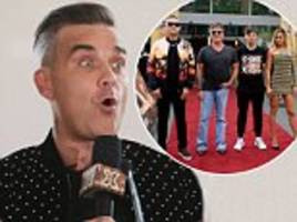 x factor: robbie williams joined the judging panel 'for the money'