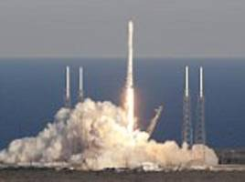 spacex launches indonesian satellite using 'block 5' version of its falcon 9 rocket