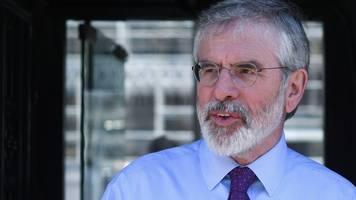gerry adams to publish 'peace process cookery book'