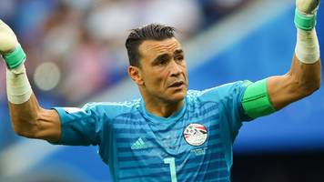egypt's record-breaking 45-year-old keeper retires