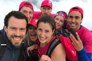 sikeside man scales britain's three highest mountains in one day for charity