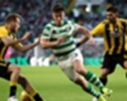 celtic 1 aek athens 1: hoops in trouble after costly home draw