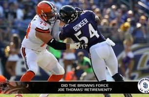 did the browns losing games force joe thomas to retire?