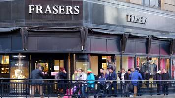 edinburgh house of fraser to close early