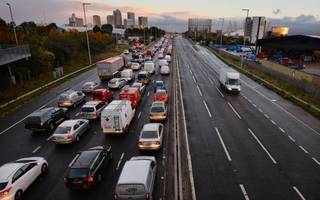 traffic congestion amounts to 55 hours a year for the average commuter