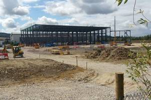 this is what that humongous building being built in brockworth near the tesco extra supermarket is
