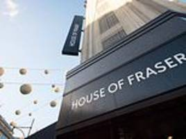 Clock ticking for House of Fraser rescue as thousands of jobs hang in the balance