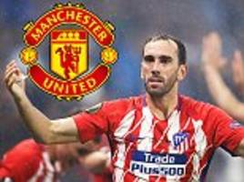 manchester united in shock move for atletico madrid hard man diego godin