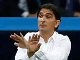 zlatko dalic to stay as coach of croatia's national team after resolving 'issues'