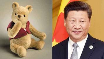 china bans 'christopher robin'... and it may be to do with the president being compared to pooh
