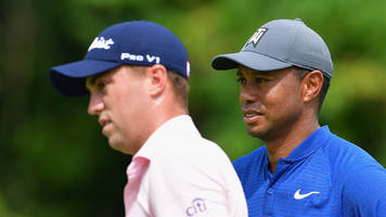 tracking tiger, rory and justin thomas as they play round one of the pga championship