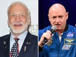 buzz aldrin says space force is 'one giant leap in the right direction,' mark kelly calls it 'dumb'