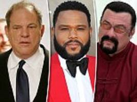la prosecutors review sex assault cases against weinstein, seagal and anderson
