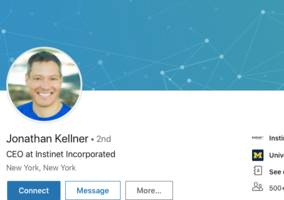 instinet's ceo is preparing to leave, and a new hire from goldman sachs might take his place