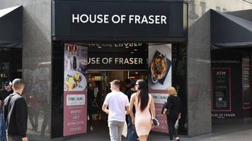 House of Fraser calls in administrators