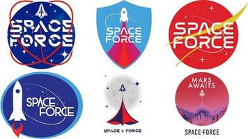 Vote For Your Favorite 'Space Force' Logo