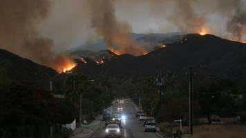 California Gov. Declares State Of Emergency As Holy Fire Grows