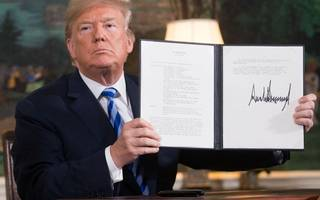 there is method to trump's twitter madness when it comes to iran