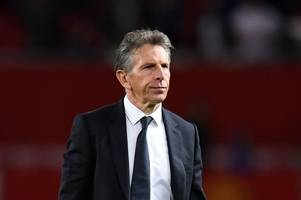 Claude Puel says the future is bright for Leicester City despite Manchester United defeat