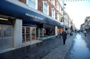 grimsby's house of fraser store may close sooner as firm slips into administration