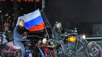 "putin's ""surgeon"" of the night wolves issues ""end of the world"" message to slovakian president kiska"