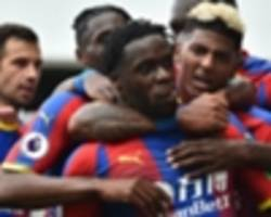 crystal palace's schlupp, zaha dazzle as seri suffer debut loss with fulham