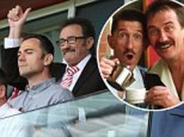paul chuckle seen for first time since brother barry's death aged 73