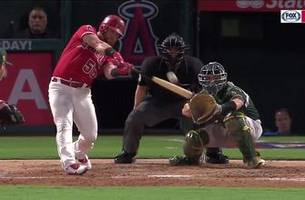 kole calhoun unleashes a two-run blast vlad would be proud of