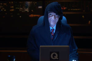 bill maher announces he's qanon – to try to stop republicans from voting (video)