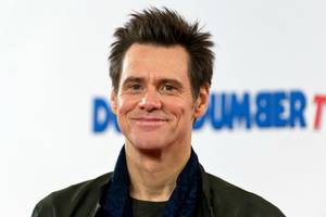 jim carrey blasts off on trump's space force in new artwork: 'to stupidity and beyond!'