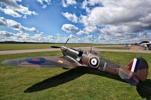 how you can see historic spitfire flypast this weekend