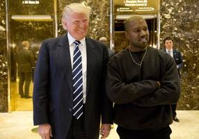 US President Donald Trump praises Kanye West for 'telling the truth'