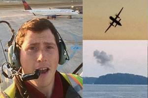 probe launched after airline employee steals plane in seattle and crashes it into island