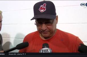 terry francona loved what he saw from carrasco, glad allen shut door on sox rally