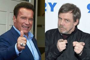 that time mark hamill told schwarzenegger to lose the accent