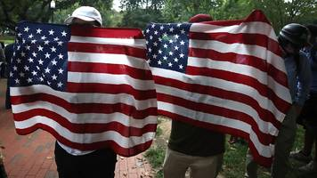 Unite the Right: White nationalists outnumbered at Washington rally